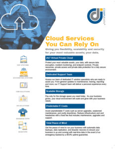 Compudata Cloud Services Sales Sheet